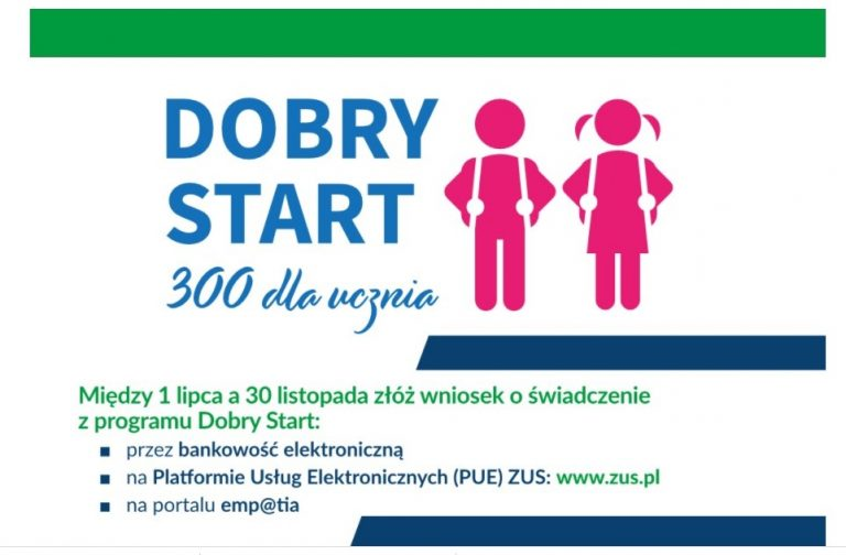 Read more about the article Dobry Start od ZUS